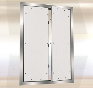 Double Door Drywall Access Panel